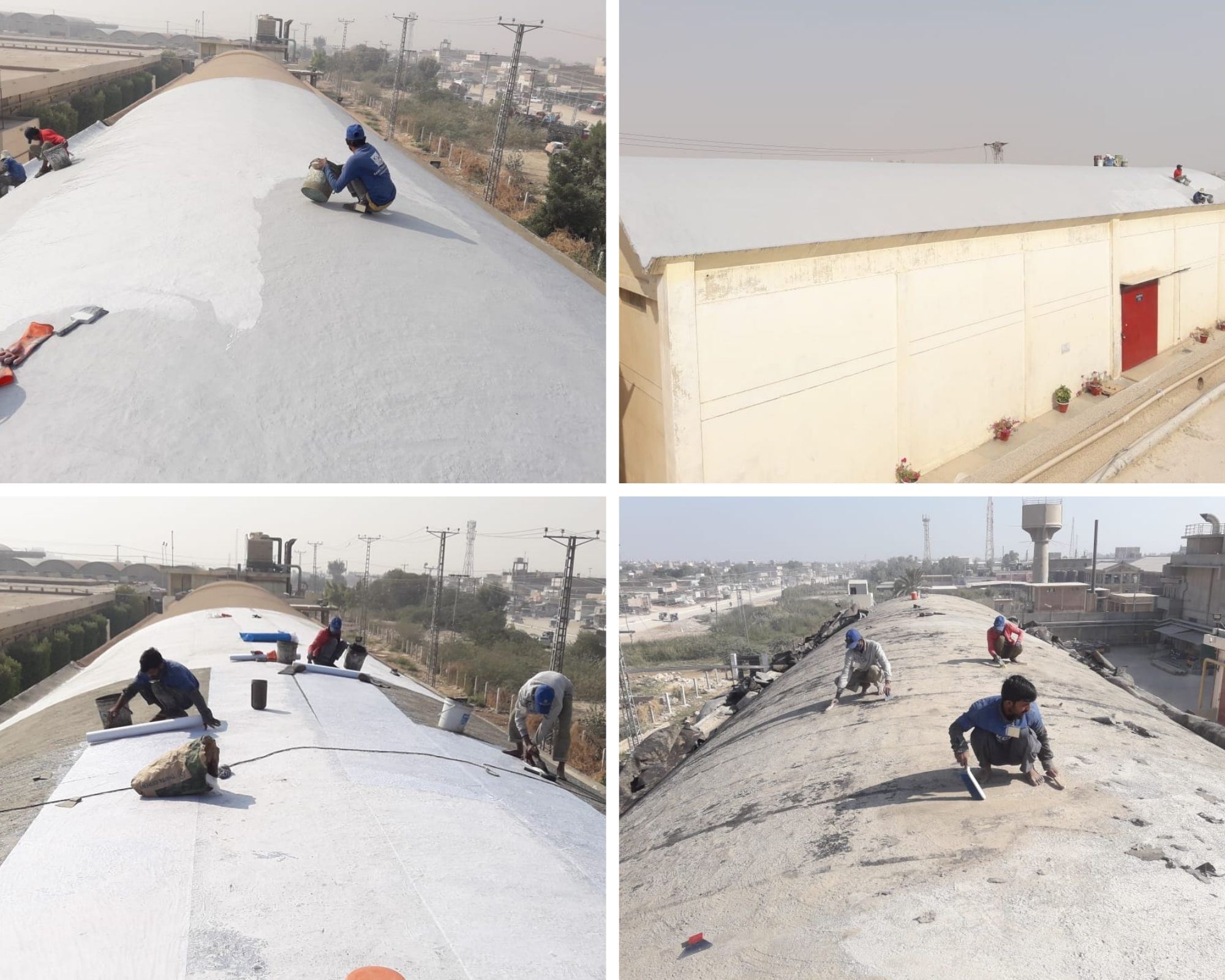 Warehouse Roof Waterproofing1